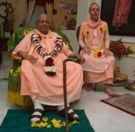 Goswami Maharaj con Govinda Maharaj
