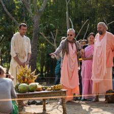 Goswami Maharaj con Avadhut Maharaj